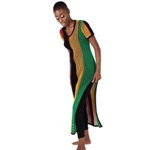 Mesh Rasta Dress